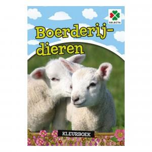 Selecta Kleurboek Boederijdieren
