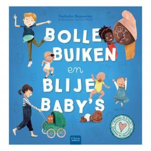 Clavis 'Kriebels in je buik' Informatief Leesboek Bolle buiken en blije baby's