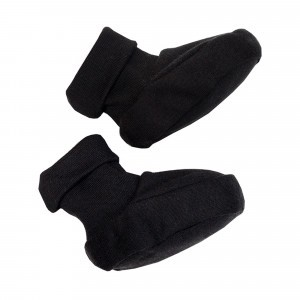Wooly Organic Slofjes Zwart