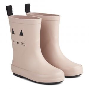 Liewood Regenlaarzen Hoog Kat Roze