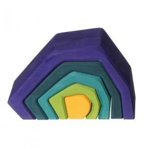 Grimm's Bouwset Aarde (Lengte 16 cm)