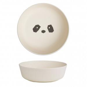 Liewood Bamboo Kom (2 pack) Panda Creme de la creme