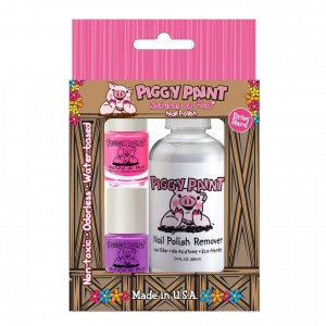 Piggy Paint Nagellak Polish + Remover Box