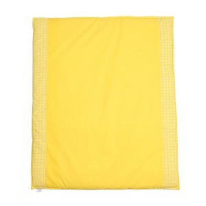 Mundo Melocoton Boxkleed 'Lis' geel