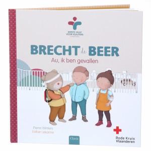 Clavis Boek Brecht de Beer - Au, ik ben gevallen