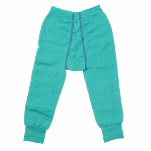 Woolpower Thermisch Ondergoed Lange broek - Turtle Green