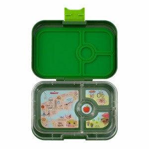 Yumbox Panino Brooklyn Green met Tray NYC