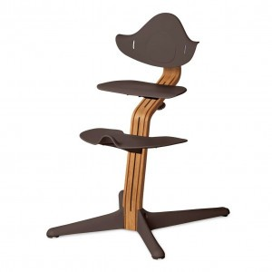 Nomi Highchair Coffee / Oiled Oak