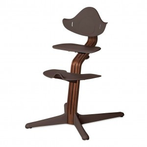 Nomi Highchair Coffee / Oiled Walnut