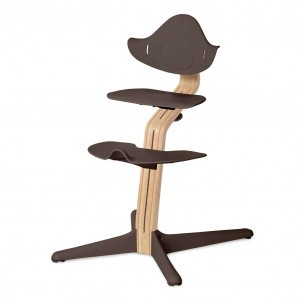 Nomi Highchair Coffee / White Oiled