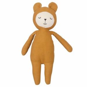 Fabelab Knuffel Buddy Bear Oker