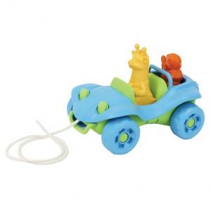 Green Toys Trekspeeltje Buggy Blauw