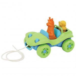 Green Toys Trekspeeltje Buggy Groen