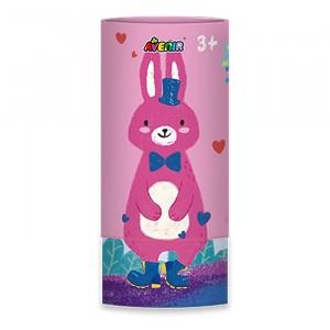 Avenir Zijdezachte Waskrijtjes (12 kleuren) Bunny