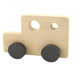 Pinch Toys Houten Duwfiguur Maxi Busje