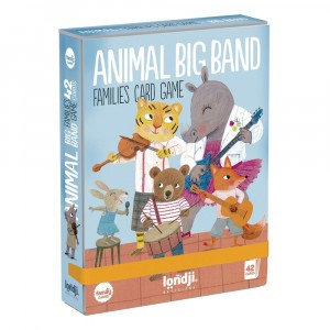 Londji Kaartspel 'Animal Big Band'