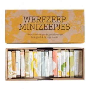 Werfzeep Minizeepjes Cadeaudoos (18 stuks)