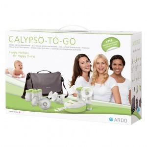 Ardo Dubbelzijdige Borstkolf Calypso-To-Go + accessoires