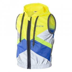 Wowow Reflecterend veiligheidshesje Cape Town Hoodie Yellow