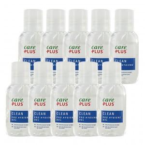Care Plus Clean Pro hygiëne handgel (30 ml x 10 stuks) Voordeelpakket