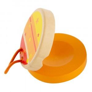 Hape Clickety-Clack Clapper Oranje