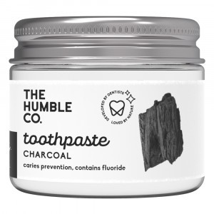 Humble Brush Zero Waste Tandpasta - Charcoal (met fluor)