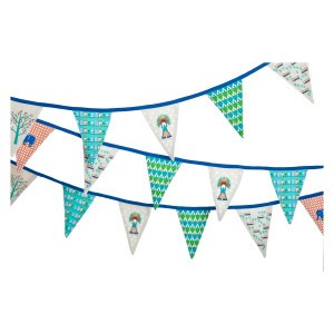Engel. Vlaggenslinger Chief Mini Bunting