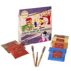 Natural Earth Paint Eco-vriendelijke Verf voor kinderen Kit