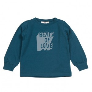 Cos I Said So Shirt Beats of love Blauw