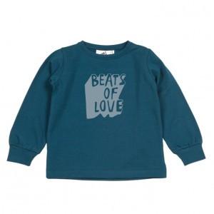 Cos I Said So Shirt Beats of love Blauw