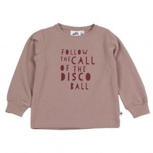 Cos I Said So Shirt Disco Ball Roze