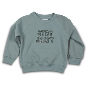 Cos I Said So Sweater Slate Stay Salty