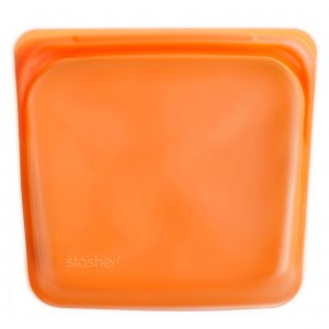 Stasher Bag Diepvrieszakje Oranje