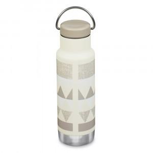 Klean Kanteen Thermische Drinkbus Insulated Classic met Loop Cap (355 ml) Salt Flats