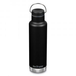 Klean Kanteen Thermische Drinkbus Insulated Classic met Loop Cap (592 ml) Black