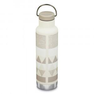 Klean Kanteen Thermische Drinkbus Insulated Classic met Loop Cap (592 ml) Salt Flats