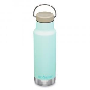 Klean Kanteen Thermische Drinkbus Insulated Classic met Loop Cap (355 ml) Blue Tint