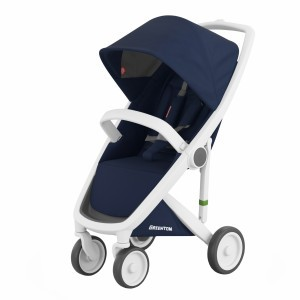 Greentom Kinderwagen Classic Wit/Blauw