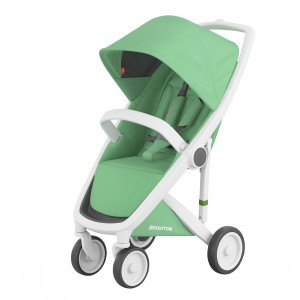 Greentom Kinderwagen Classic Wit/Mint