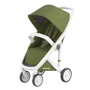 Greentom Kinderwagen Classic Wit/Olive