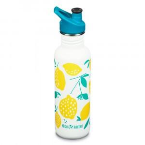 Klean Kanteen Drinkbus Classic met Sport Cap (800 ml) Lemon