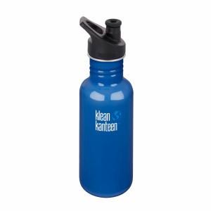 Klean Kanteen Drinkfles Classic Sport Cap (3.0) 532ml Blue Planet