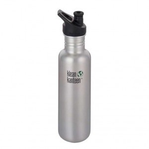 Klean Kanteen Drinkfles Classic Sport Cap (3.0) 798ml Brushed Stainless