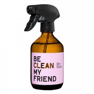 Be Clean My Friend Kamer- en Yogamat Spray Lavendel & Citroenzeste (300 ml)