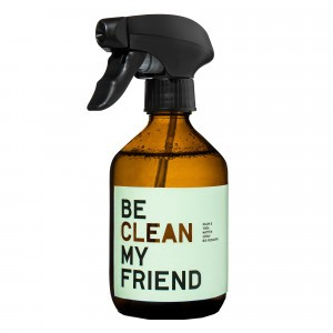 Be Clean My Friend Kamer- en Yogamat Spray Rozemarijn & Abrikoos (300 ml)
