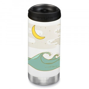 Klean Kanteen Thermosbeker TKWide met Café Cap (355 ml) Limited Edition 'Coast'