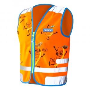 Wowow Reflecterend veiligheidshesje Comic Veggie Jacket Orange