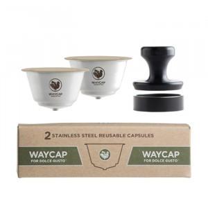Waycap Hervulbare Dolce Gusto Capsule - Complete Kit (2 stuks)