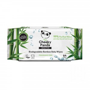 The Cheeky Panda Billendoekjes (64 doekjes)