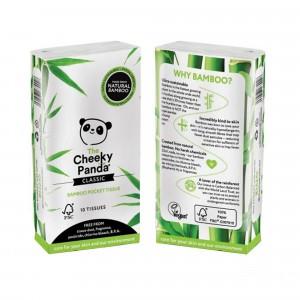 The Cheeky Panda Bamboe Zakdoekjes (8 pakjes)
